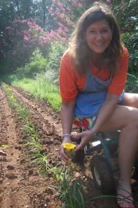 Holly on the Farm
