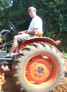 Jeff on the Farm